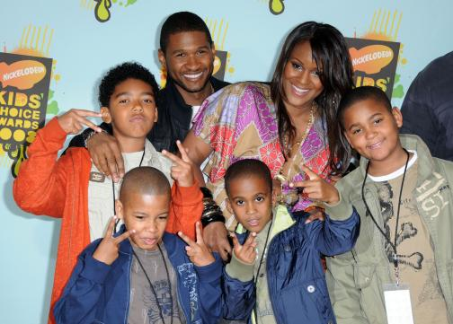 Usher and Family