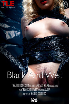 Cover: Black And Wet (Lucia) - TheLifeErotic