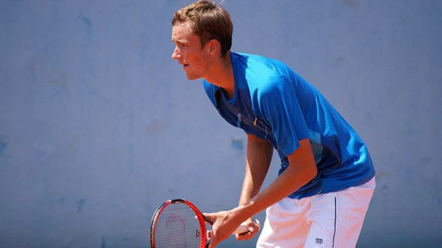 Russian Tennis Star Medvedev Completes Journey From ...