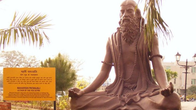 Not just by modern-day yoga fans, Patanjali was misunderstood even in history