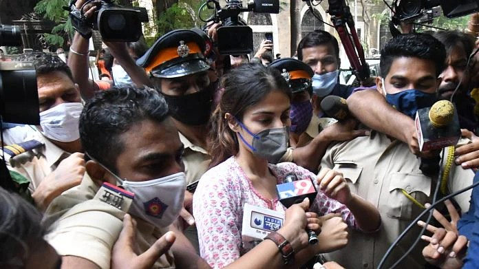 Media trial of Rhea Chakraborty by TV channels is a potboiler based on  conspiracy theories
