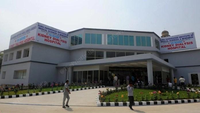 The Guru Harkrishan Institute of Medical Sciences and Research Kidney Dialysis Hospital at Delhi's Gurdwara Bala Sahib where the Delhi Sikh Gurudwara Management Committee has set up a free dialysis centre   Photo: Suraj Singh Bisht