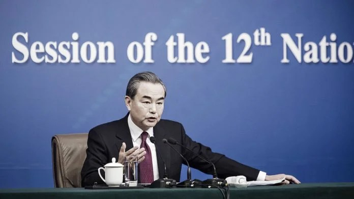 File photo of China's foreign minister Wang Yi   Photographer: Qilai Shen   Bloomberg