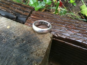 Missing platinum ring found at Mill Valley home