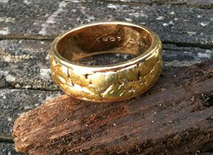 Kathleen's wedding ring found
