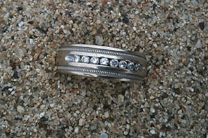 Lost wedding ring found in Half Moon Bay