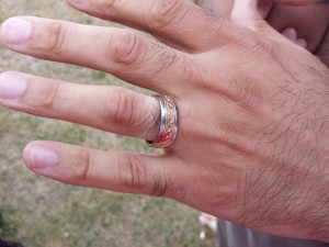 found ring on hand