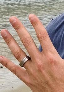 Trafford's Titanium Ring