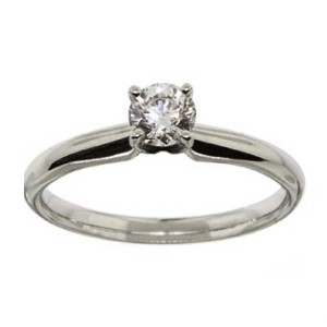 14K Solitaire ewa beach ring