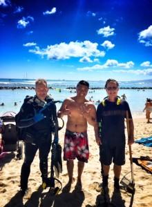 Andrew Waikiki Ag band