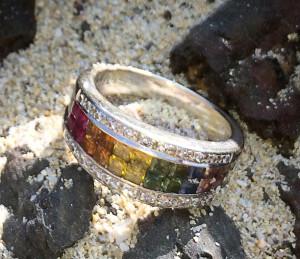 Ring Recovery on the Big Island at Kua Bay, Hawaii