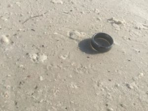 lost found beach ring madeira clearwater treasure island indian desoto