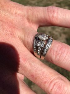 Found wedding ring lost on the side of the road for over a month