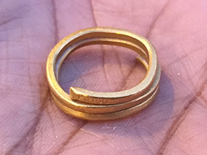 Lost ring found on silicon valley volleyball court