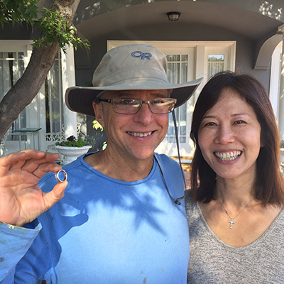 lost wedding ring found in san jose