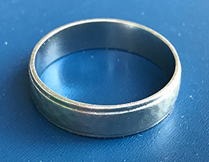 Lost ring found in Campbell California