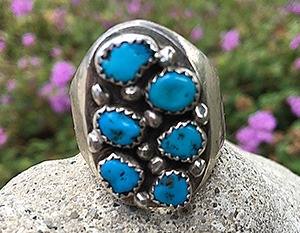 lost turquoise ring found in san jose