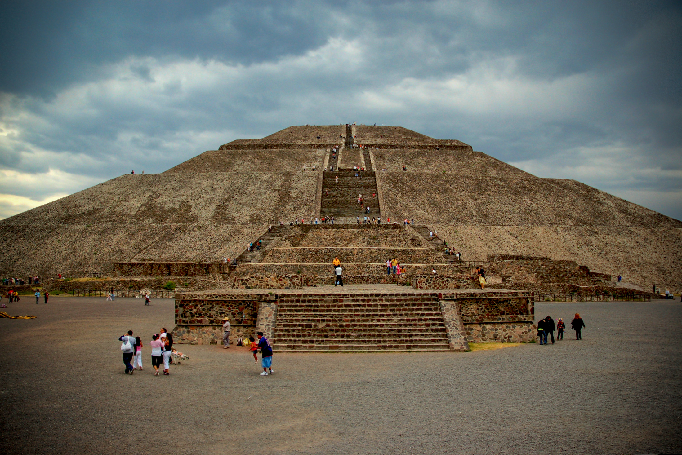 Pyramid Of The Sun Temple In Teotihuacan Thousand Wonders