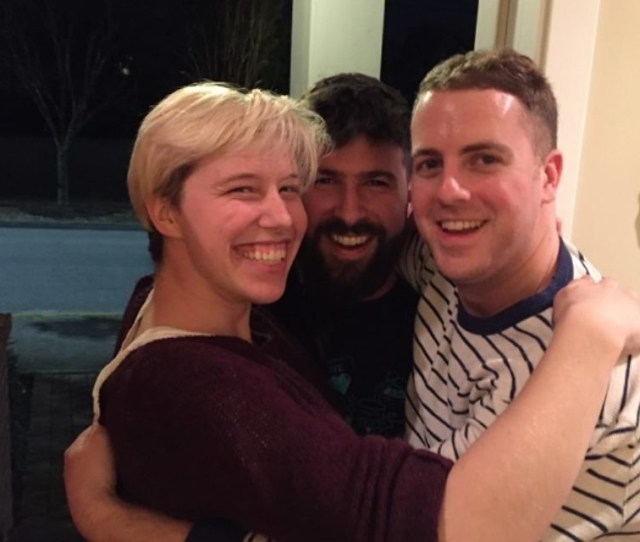 All Three Current Residents Of The Virginia Highland Moishe House Sammy Rosenbaum Jeremy Katz
