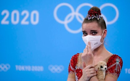 Israeli gold medalist gymnast harassed on-line by outraged Russians
