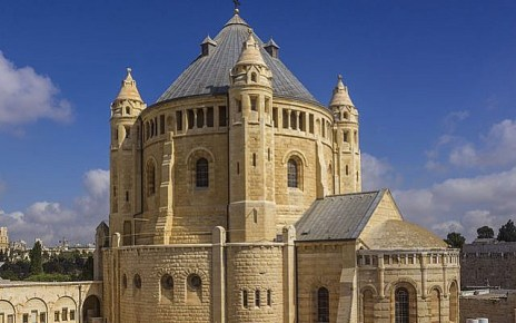 Dormition Abbey in Jerusalem. (Andrew Shiva/Wikipedia CC BY-SA 4.0)
