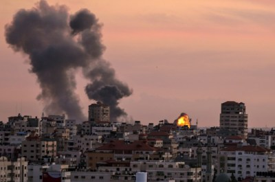 Image result for Israel bombs Hamas targets in retaliation
