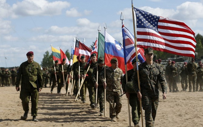 Trump berates NATO leaders for underspending on defense, warns of repercussions | The Times of Israel