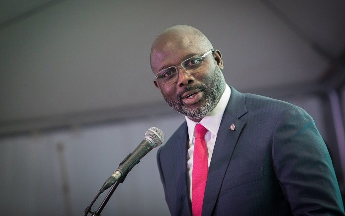 Image result for George Weah 2019
