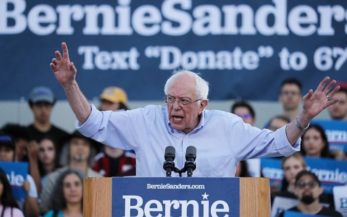 Bernie Sanders says he would 'absolutely' mull cutting aid to pressure  Israel | The Times of Israel