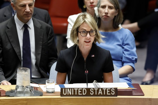 Image result for US ENVOY TO UN Kelly Craft PIC