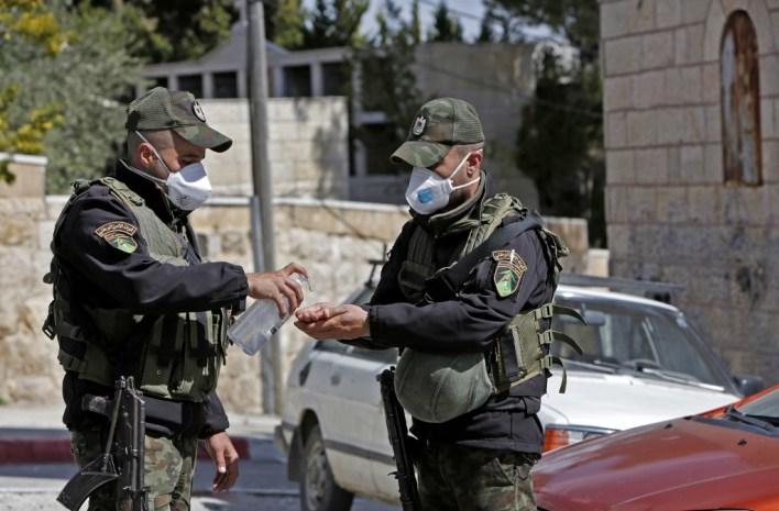 Image result for israel palestine coronavirus