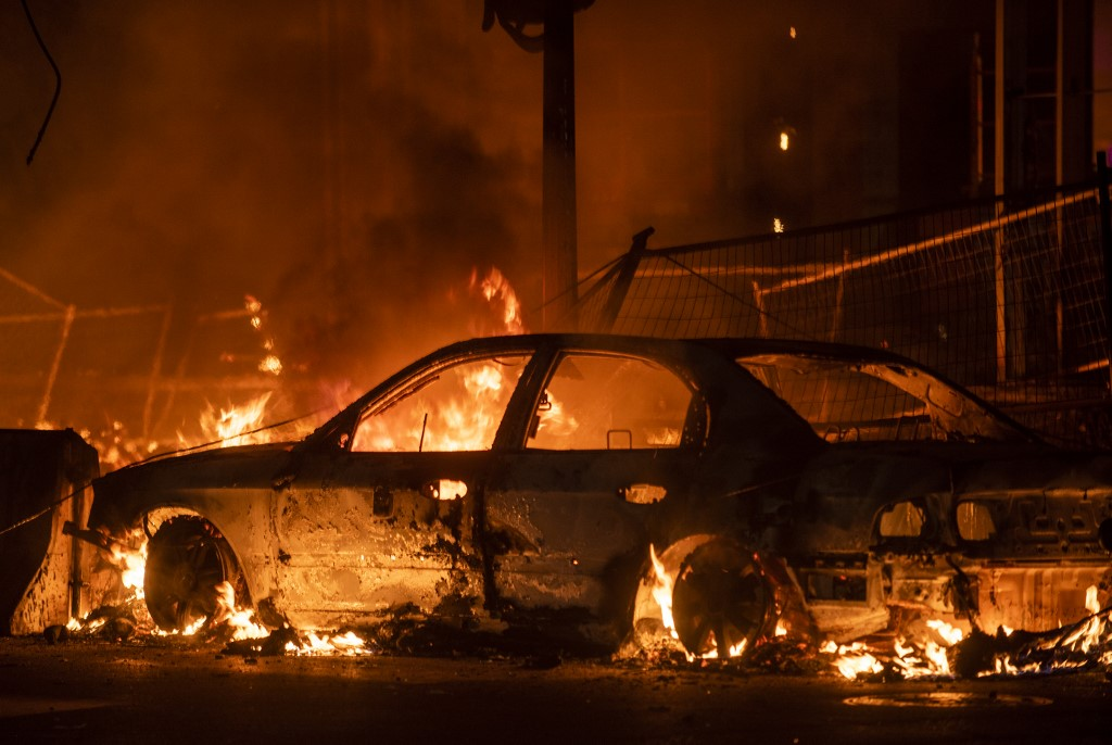 National Guard called to Minneapolis amid violent riots over man's ...