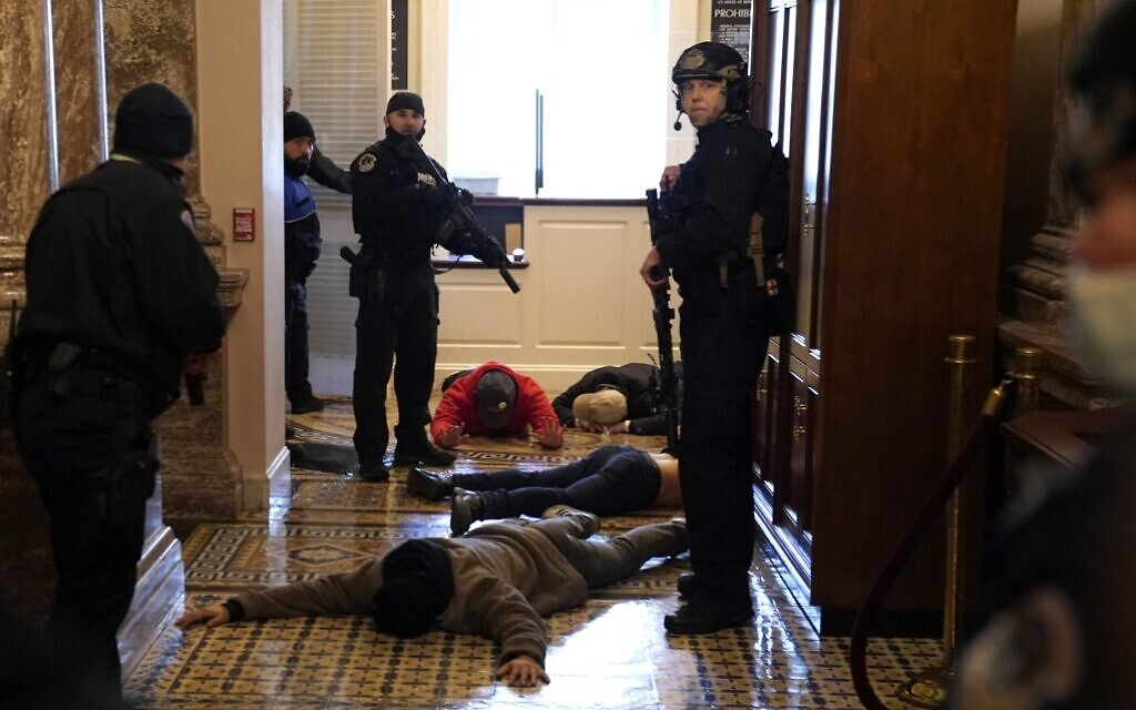 Lawmaker pushes VA to strip benefits from any vet who attended the Jan. 6 riot at the US Capitol