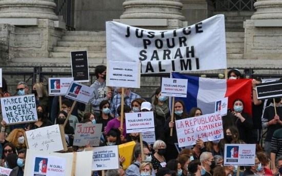 Protesters mass in France, Israel, UK and US to demand justice for Sarah Halimi | The Times of Israel