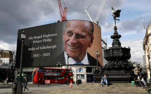 Prince Philip's funeral is scheduled for next Saturday, and only 30 people attended