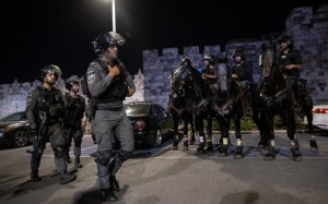 Hundreds of Palestinians clash with police at Damascus Gate, 3 arrested