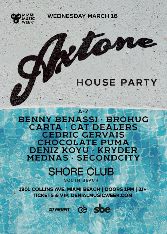 Axtone House Party Miami 2020