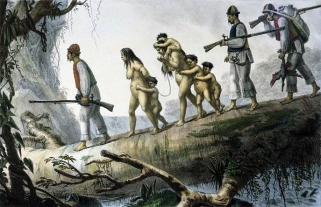 Escravidão indígena Debret
