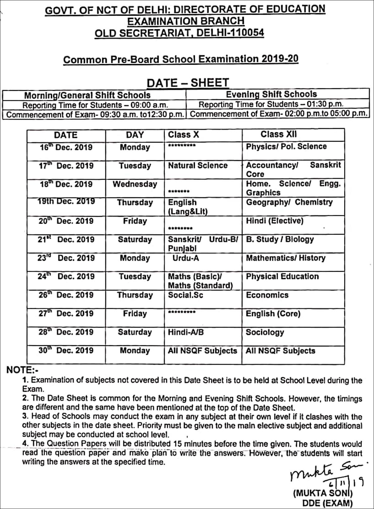 Cbse Pre Board Exam Date Cbse Pre Board Exams In