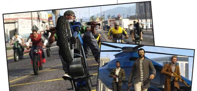 Stills from Rockstar Games' Grand Theft Auto Online