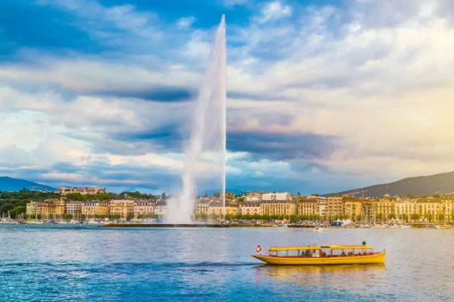 Image result for Jet d'Eau, Geneva