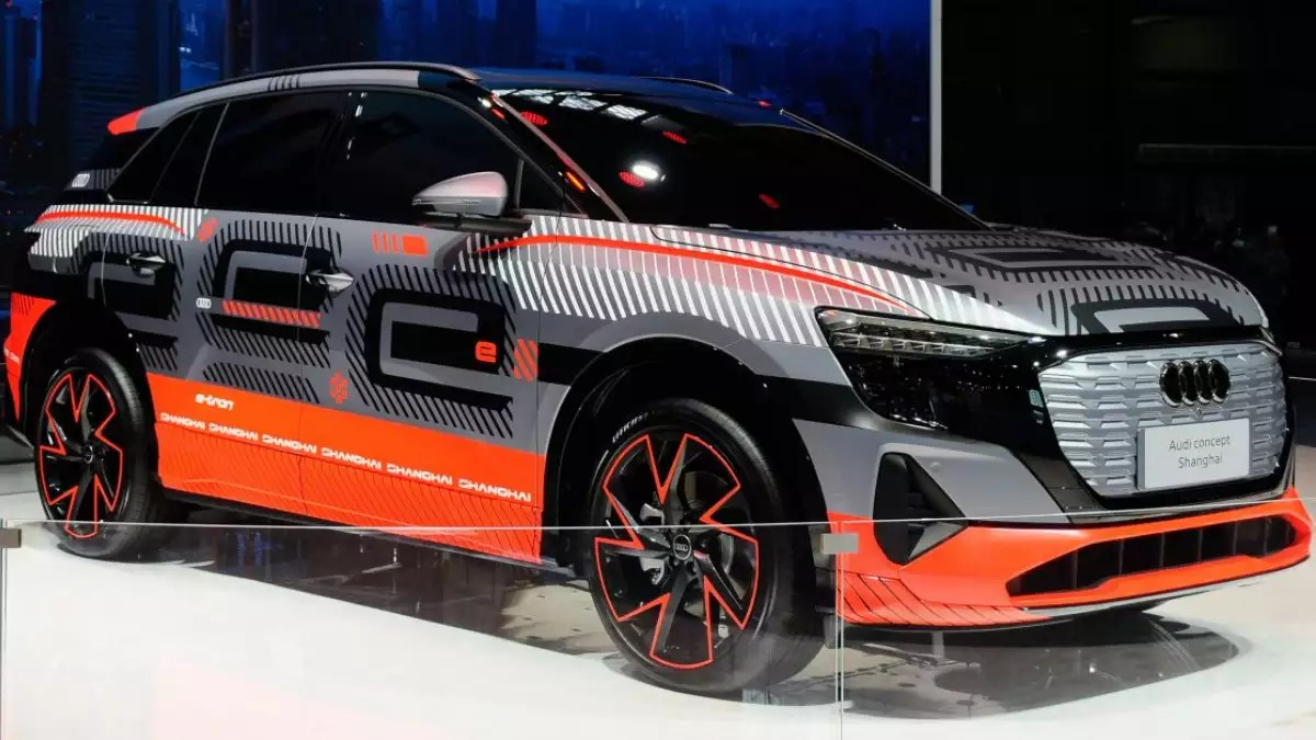 Audi Electric SUV 2021: Audi unveils electric SUV prototype at Auto Shanghai | – Times of India