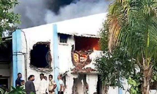 पुणे: पिरंगुट केमिकल प्लांटमध्ये झालेल्या भीषण आगीत 18 पैकी 15 महिला ठार   पुणे न्यूज