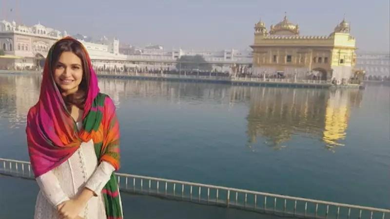 Image result for SARA ALI KHAN golden temple