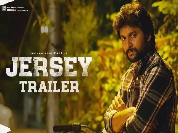 Jersey' theatrical trailer: Nani promises an emotional sports drama   Telugu Movie News - Times of India