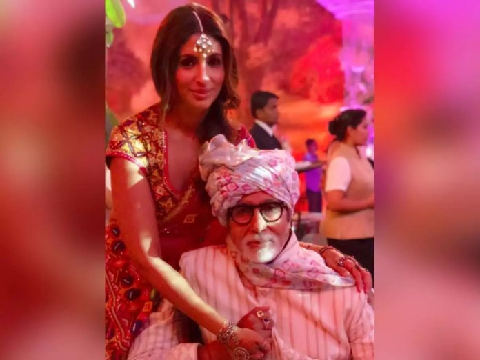 Image result for Amitabh Bachchan gets an endearing birthday wish from Shweta Bachchan; Says 'I love you endlessly'