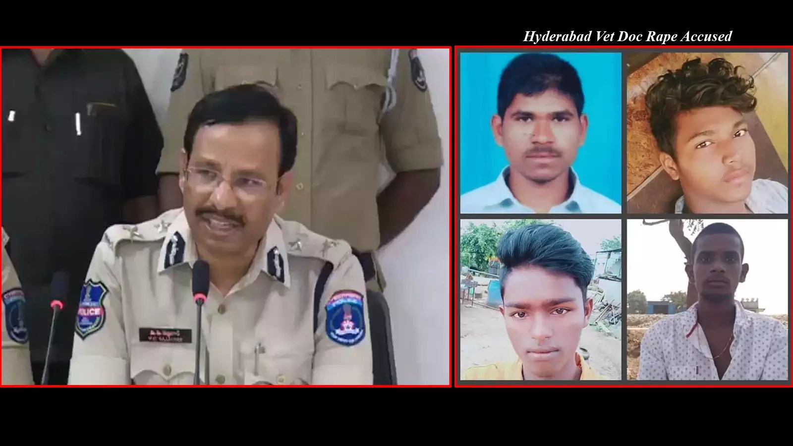 Shamshabad Murder Rapists Senteced To Two Weeks Remand-Telugu Breaking News-11/30