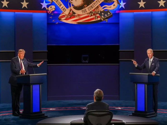 Donald Trump & Joe Biden first presidential debate 2020: Key points - Times  of India