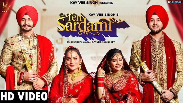 Check Out New Punjabi Trending Song Music Video - 'Teri Sardarni' Sung By  Kay Vee Singh | Punjabi Video Songs - Times of India