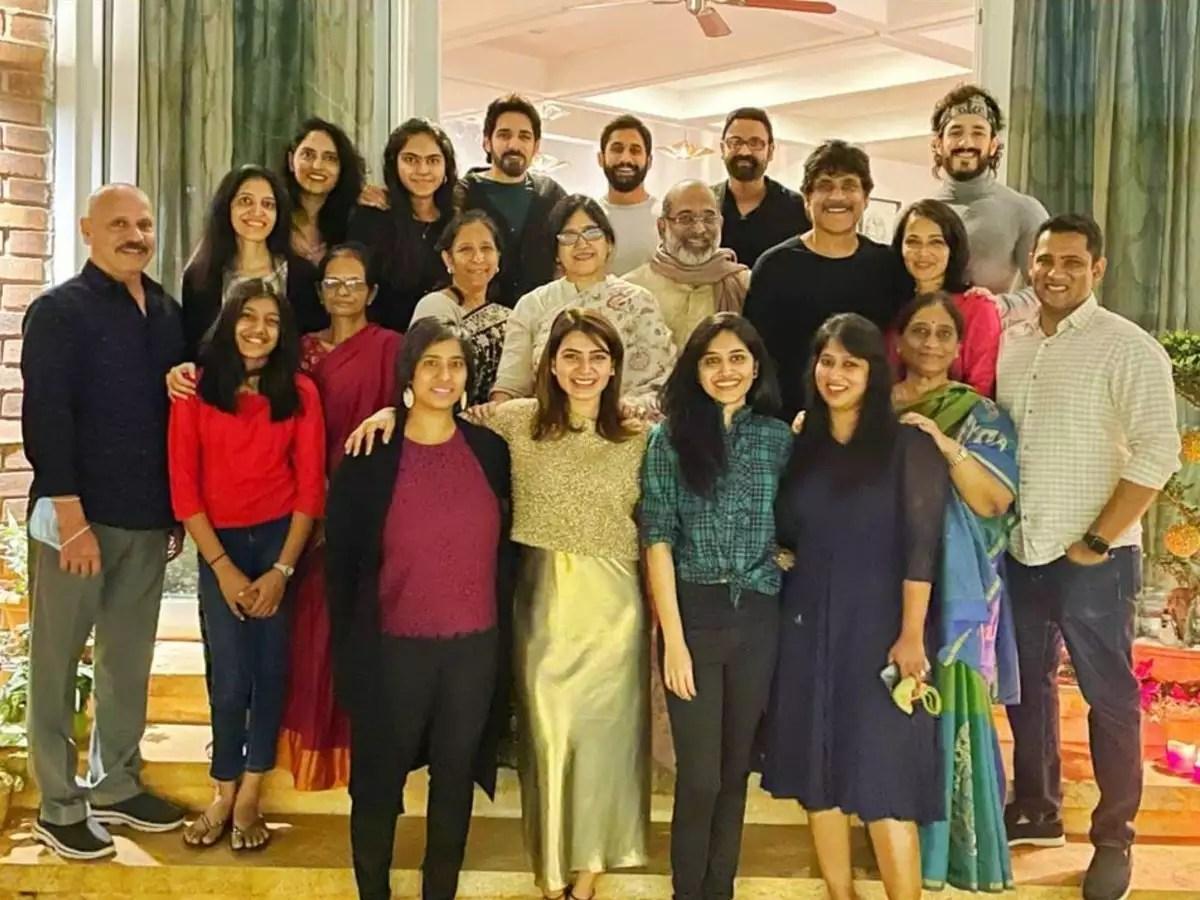 Akkineni family Christmas: Nagarjuna, Samantha, Naga Chaitanya, Akhil,  Sushanth, Sumanth spend some quality time with family | Telugu Movie News -  Times of India